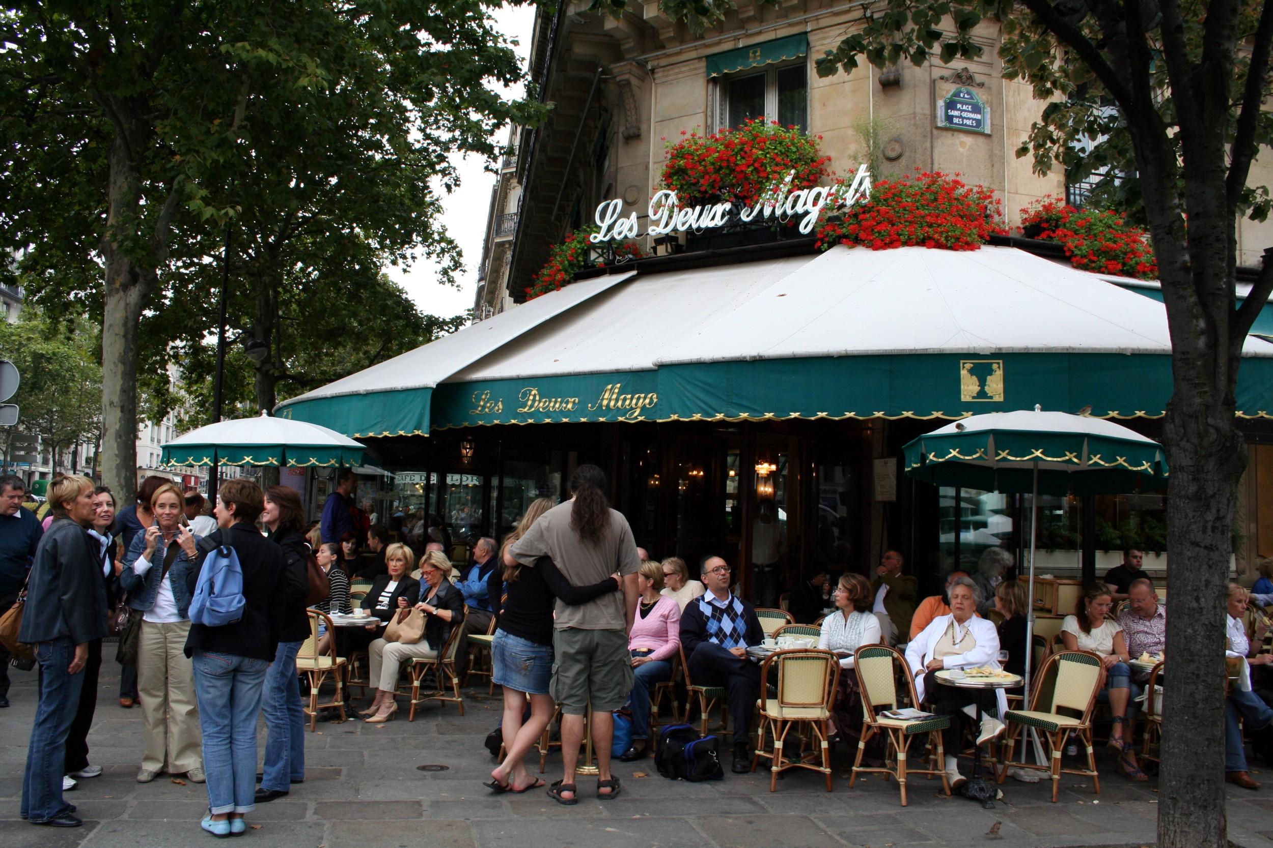 Henry Miller Cafe Paris